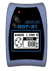 Locosys Genie BGT-31 Waterproof Sport Bluetooth GPS Data Logger with SD Expansion Slot