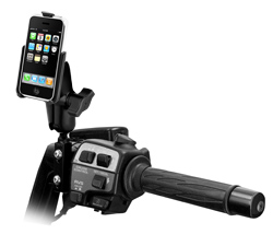RAM-B-174-AP6U: RAM Motorcycle Clutch/Brake Mount for Apple iPhone 3G/3GS