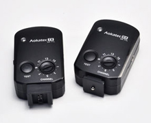 Aokatec AK-TTL(TX-S+RX) Radio Wireless TTL Flash Trigger Kit for Sony DSLR cameras and Speedlights