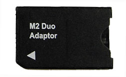 i.Trek Memory Stick M2 Micro to Memory Stick Duo Adapter (Bulk Package)