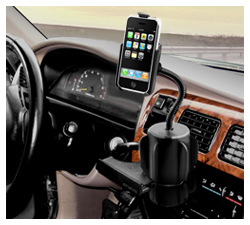 RAP-299-2-AP6U: RAM Cup Holder Mount for Apple iPhone 3G/3GS