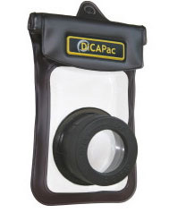 DiCAPac  Waterproof Case for Compact Digital Camera  (WP-410) (Open Box)
