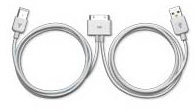 Apple iPod Dock Connector to FireWire and USB 2.0 Cable by Apple Computer (Clearance)