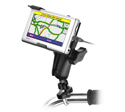 RAM-B-149Z-GA23U: RAM Bike / Motorcycle Handlebar Mount for Garmin Nuvi 600 Series (Sold Out)