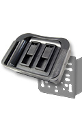 APTTOXL-VSM: i.Trek VSM 4-Hole AMPS Adapter Mount for TomTom ONE XL, XL-S