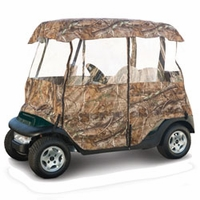 Deluxe camouflage Golf Cart Enclosure - AP HD®