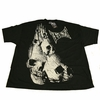 """Tapout Tap Out Mens Black Tee Shirt """"Skull Toga"""""""
