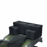 Classic ATV Armor-X Rear Rack Bag - Black