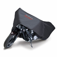 Motorcycle Dust Cover Black  -Crusr