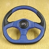 "04-09 Yamaha Rhino Blue 3 Spoke 14"" Steering Wheel & Adapter"