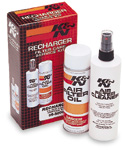 K&N Recharger Filter Care Cleaning Service Kit