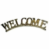 Brass Welcome Plaque