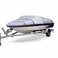 Classic SilverMAX Trailerable Boat Covers 17' to 19'L  Model - D