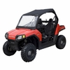 Polaris RZR UTV Roll Cage Top with Front and Rear Windows - Black