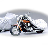 """Covercraft Ready Fit """"Pack Lite"""" Chopper / Large Cruiser Motorcycle Covers"""