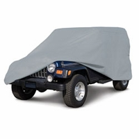 Jeep Cover Deluxe Polypro 3 - Gray
