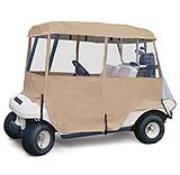 Classic Deluxe 4-Sided Golf Car Enclosure