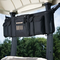 Golf Cart Organizer - Black