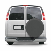 Custom Fit Spare Tire Cover Gray Model 7