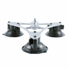 "Vector Mount 12"" Portable Tri-Base, Three Suction Cup Mounting Base"