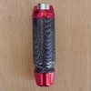 Red & Carbon Fiber Automatic Billet Shifter Knobs
