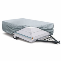 Classic Folding Camping Trailer Cover 10' to 12'L  -  Model 2