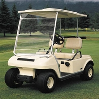 Classic Portable Golf Car Windshield