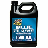 Champion Syn Blend 15W-40 Blue Flame High Performance Diesel Motor Oil CJ-4 - Gallon