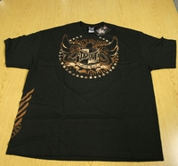 """Tapout Tap Out Mens Black Tee Shirt """"Phoenix Rising"""""""