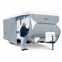 Classic Travel Trailer Cover 22' to 24' L -  Model 3