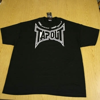 """Tapout Tap Out Mens Black Tee Shirt """"Locked-Up"""""""