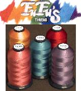 Floriani Polyester Thread by FuFu's -- 5000m Cones