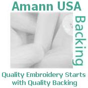 "Amann USA / Ackermann Tear-Away Backing 1.5oz 23"" x 100yd Roll"