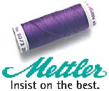 Mettler Embroidery Threads -- Poly & Cotton