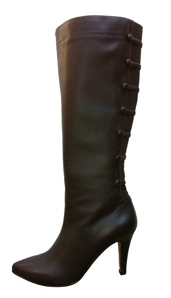 Ros Hommerson Women's Tanya Extra Wide Calf Boot (Brown)
