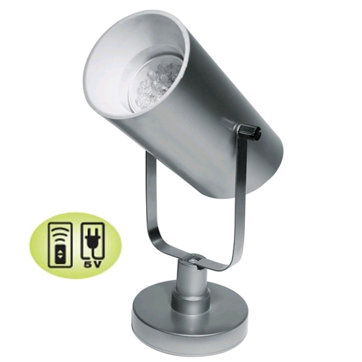 Acolyte Battery Operated LED Can Light - Spot Light - Remote Control Compatible