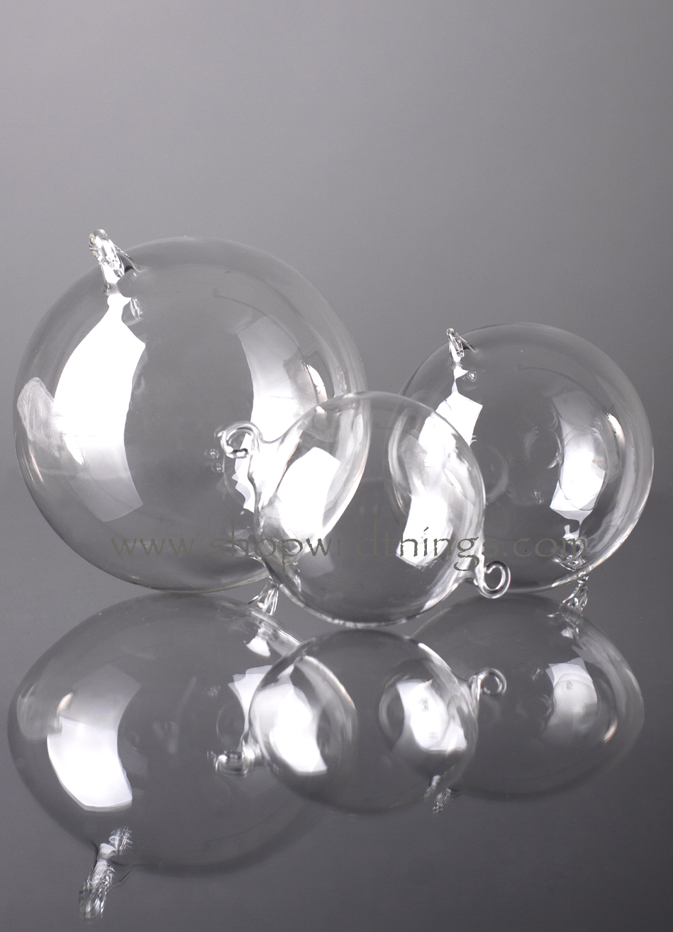 Glass Decorative Hanging Balls - 60mm - Set of 6 - as low as $16.99