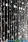 Bubbles Crystal...on Oprah! Beaded Curtain