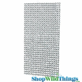 Clear Diamond Stickers - 1,012 Rhinestones!