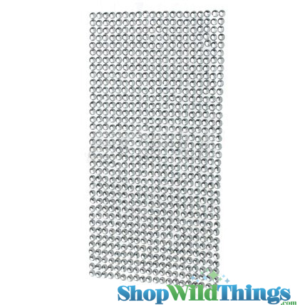 Clear Diamond Stickers - 810 Rhinestones!