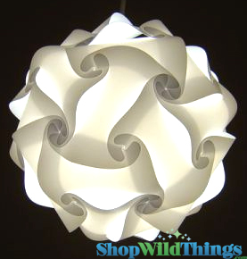 Jigsaw Lamp White Puzzle Lamp Polylights Plastic