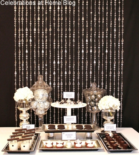 Lafayette Beaded Curtain - Crystal Clear Non-Iridescent - 3 ft x 6 ft