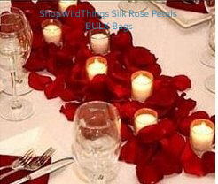 Rose Petals - Silk Rose Petals (Bulk) - Several Colors Available