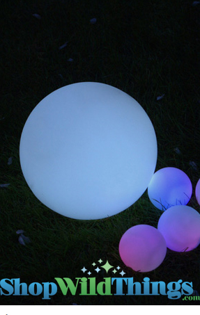 Rainbow Orbs Color Changing Giant Orb 9 1 2 Quot Led Orb