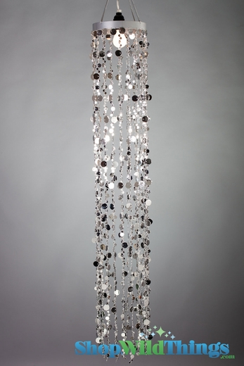 Chandeliers 4 Foot Long Bubbles - <BR><B> 2 Colors Available</B>