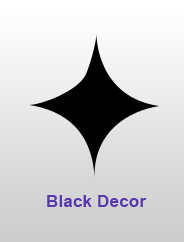 Black Decor