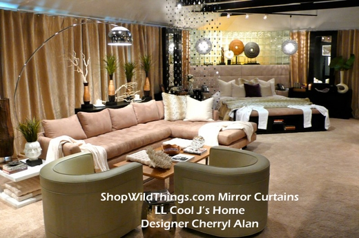 Mirror Curtains - Strands - Chandeliers & Wall Decor - Many Sizes & Shapes Available