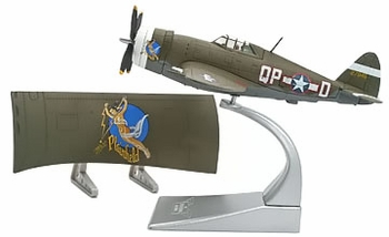 "P-47D Thunderbolt Model, USAAF, ""Miss Plainfield"" - Corgi US33816 - click to enlarge"