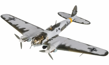 "He 111 Model, Luftwaffe, KG 53 ""Legion Condor"" - Corgi AA33713 - click to enlarge"