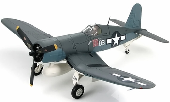 F4U Corsair, USMC, VMF-214, Maj. Boyington - Hobby Master HA8202 - click to enlarge